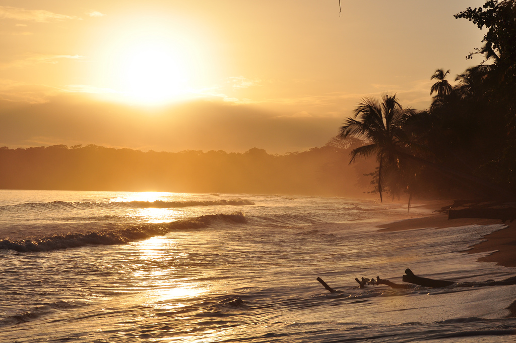 Golden sunrise in Cahuita, Costa Rica_by_Armando Maynez