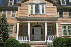 Olger Fallas Painting works on the Exterior Painting of Maplewood New Jersey Home