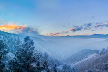 Fog in the Valley, Candle in the Sky_by_Zach Dischner