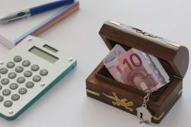 Euro Economy Money Save Box Finance Business