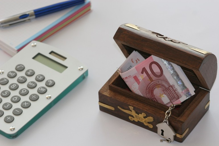 Euro Economy Money Save Box Finance Business