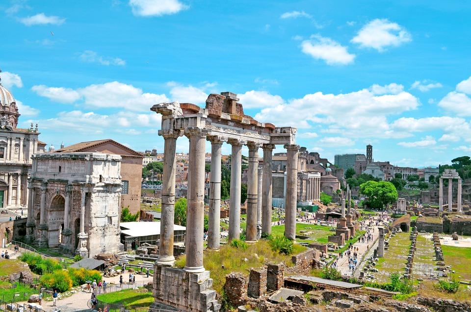The Roman Forum Italy Rome